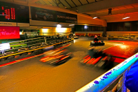 Indoor Kartbahn